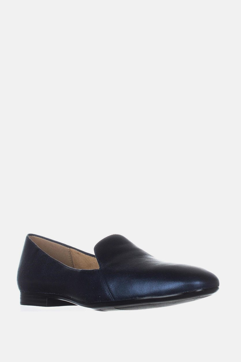 Premium Emiline Slip On Loafers, Navy