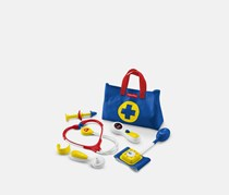 Fisher Price Medical-Kit Pretend-Play, Blue/Red
