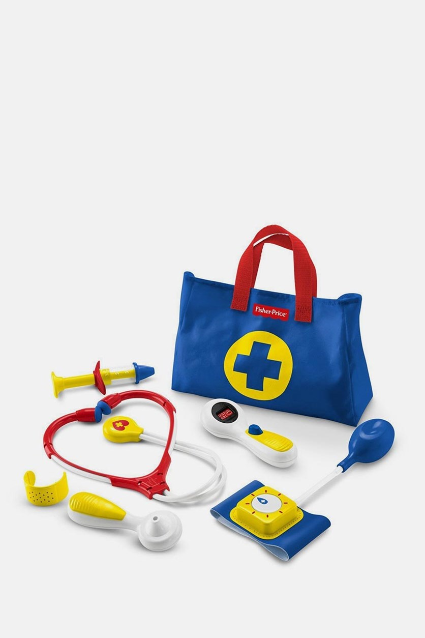 Medical-Kit Pretend-Play, Blue/Red