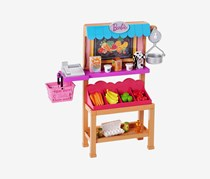 Barbie Grocery Playset, Pink Combo