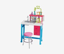 Barbie Science Lab Playset, Pink/Blue Combo
