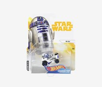 Star Wars R2-D2 Character Car, White/Blue