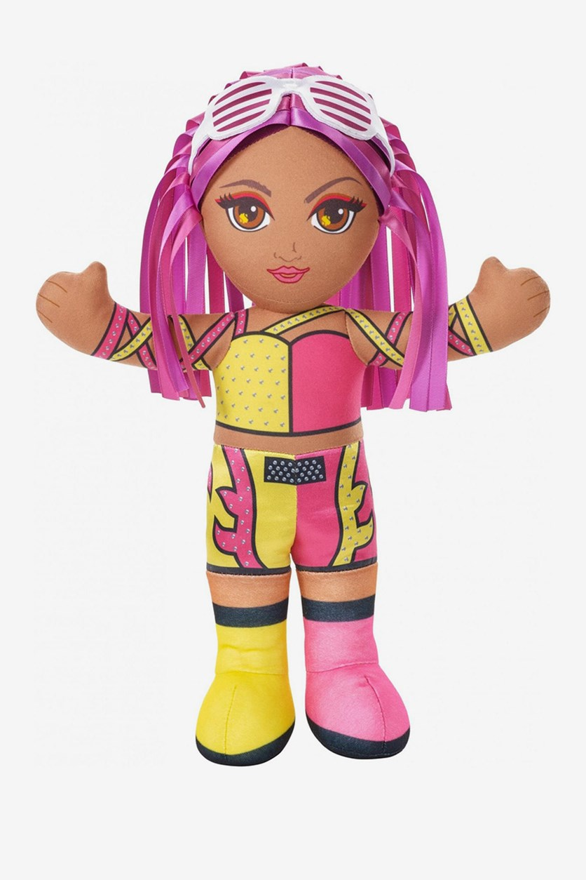 Tag Team Superstars Sasha Banks, Pink/Yellow