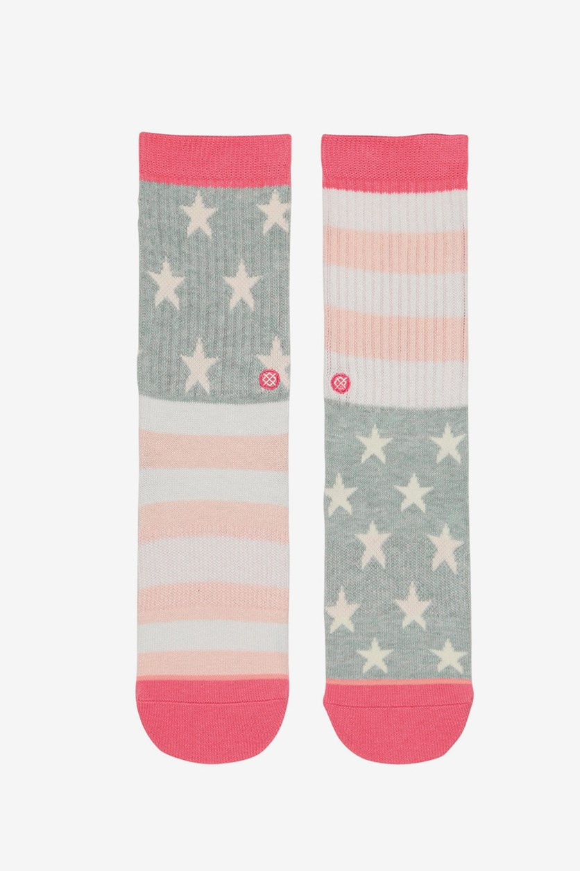 Kids Girl's Liberty Socks, Pink