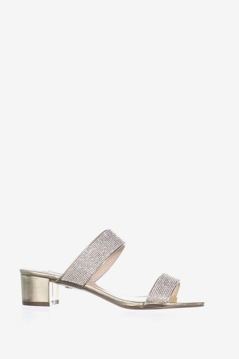 Women's Georgea Slide Sandals, Platino