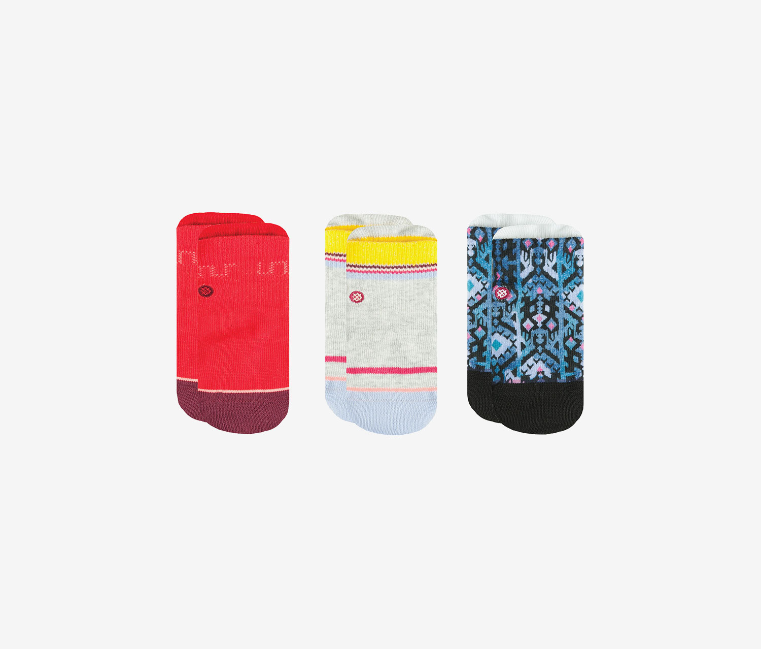 Stance Kids Boys Betsy Socks Red M New