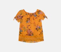 Beautees Big Girls Blouse, Yellow