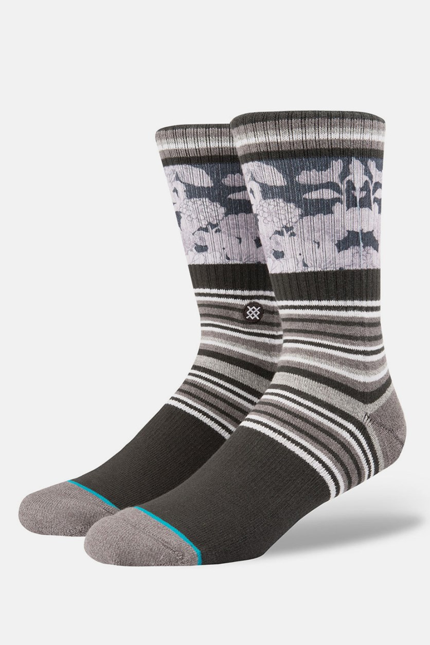 Men's Scenic Socks, Charcoal
