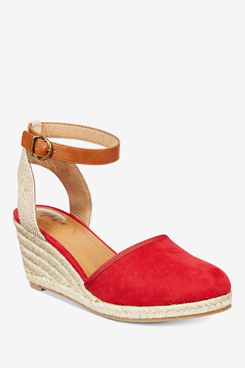 Women's Mailena Wedges, Red