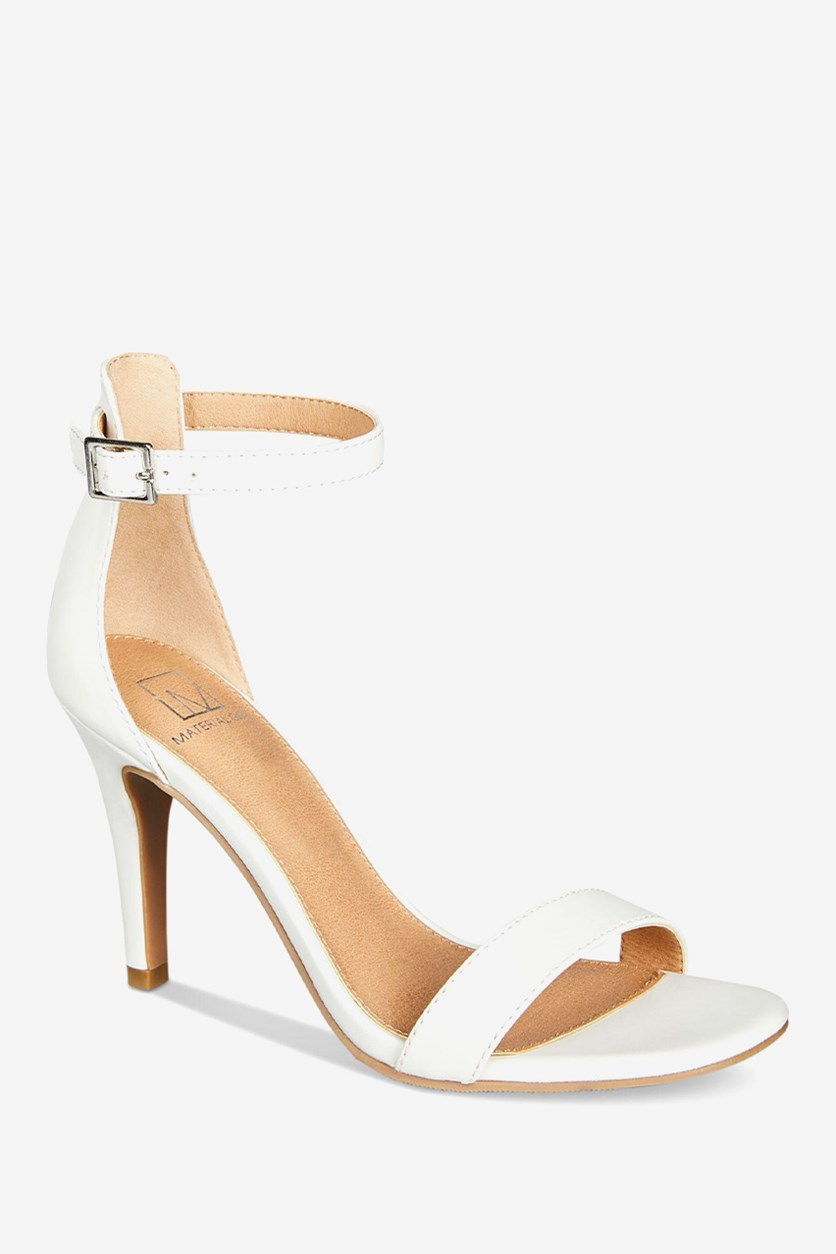 Women's Blaire Two-Piece Dress Sandals, White