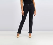 Women's Bootcut Jeans, Wash Black