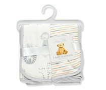 Baby's 2-Pack Blankets, White