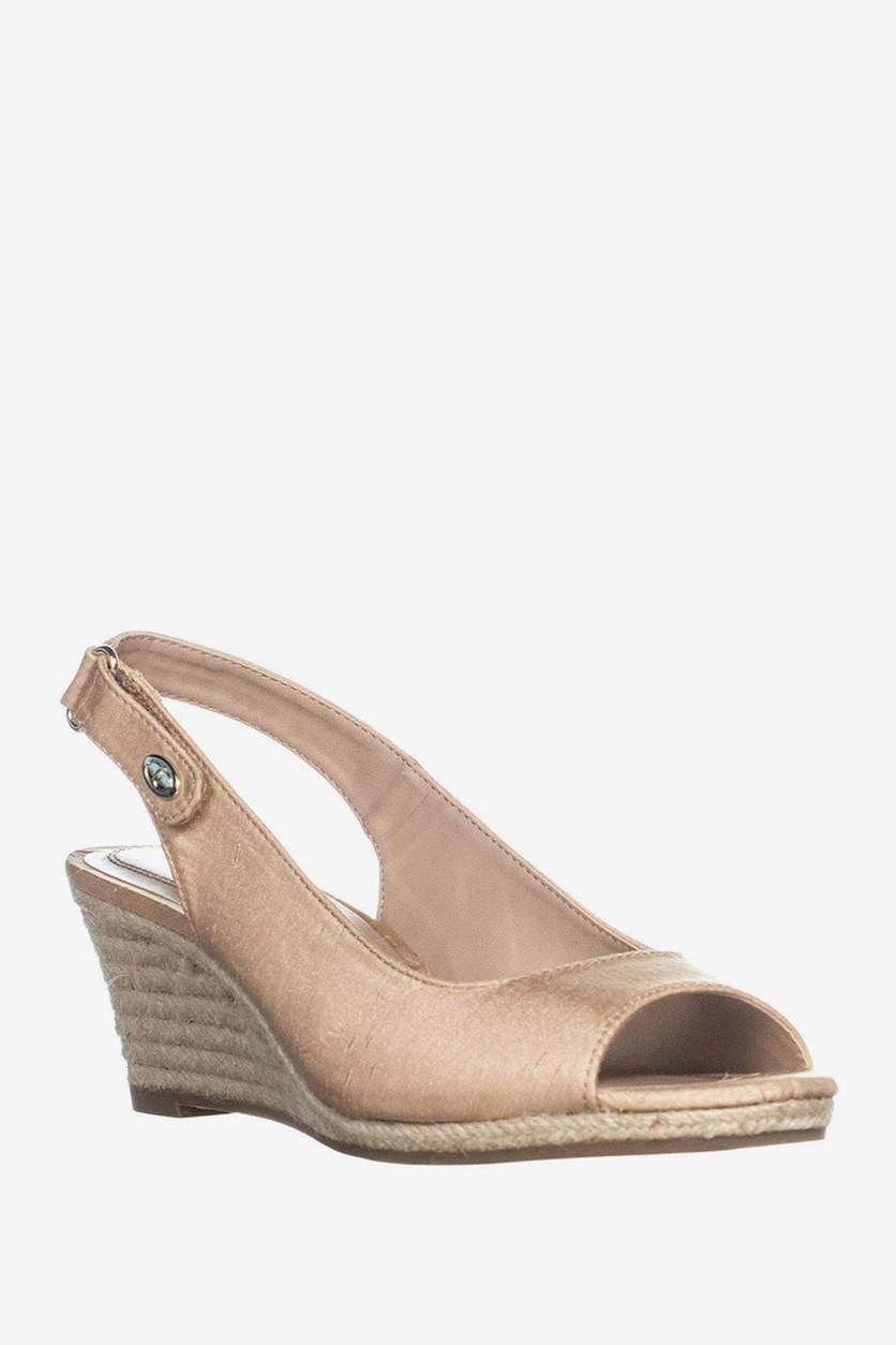 Women's Samiee Espadrille Wedge Sandals, Blush