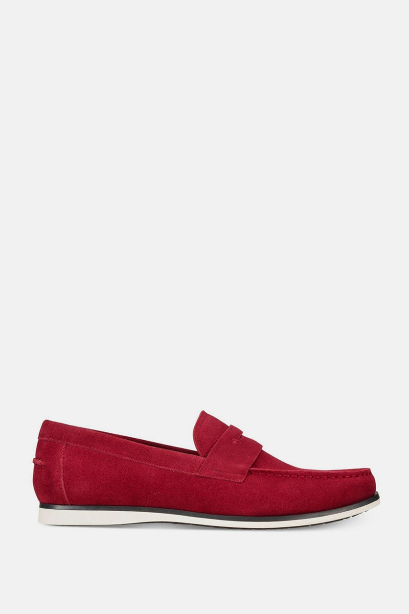 Men's Sawyer Slip-On Loafers, Red