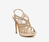 Nina Womens Solina High Stiletto Evening Sandals, Sugar Glaze