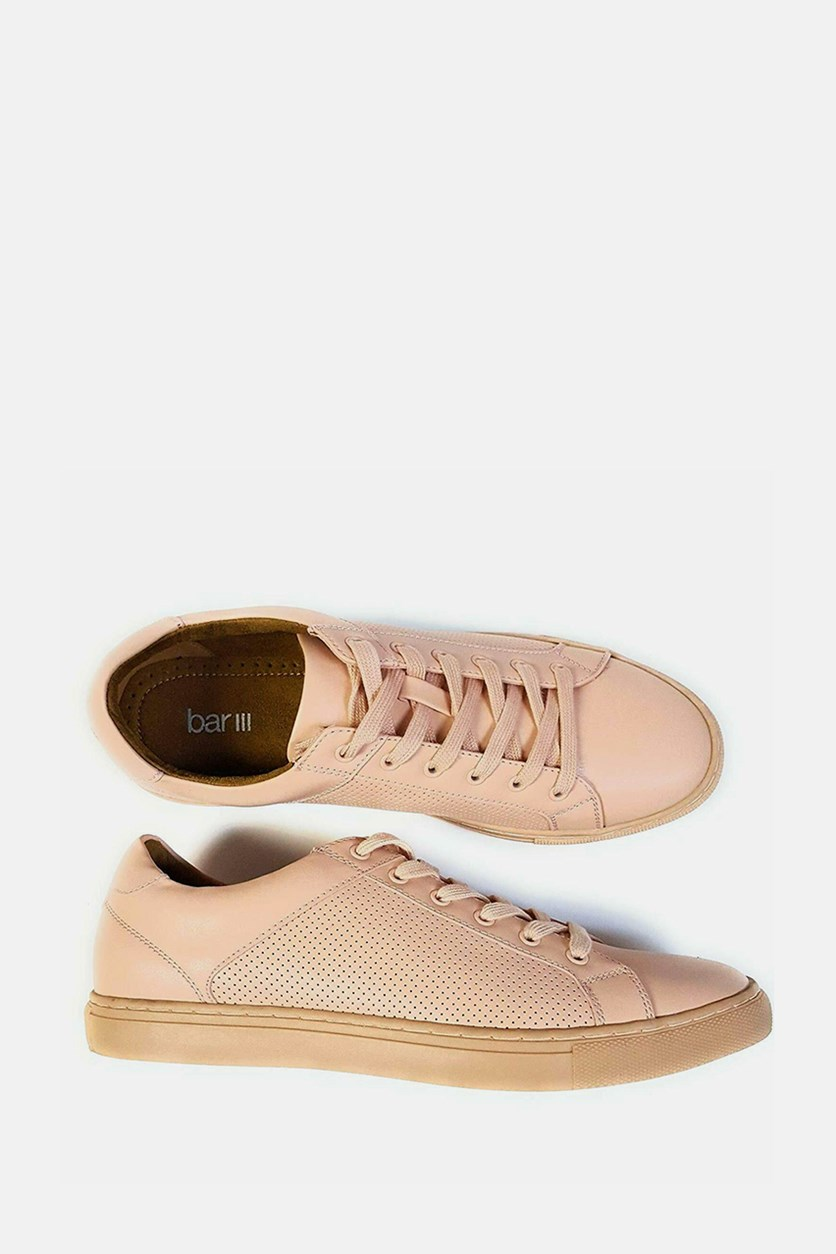 Men's Toby Lace-Up Sneakers, Pink