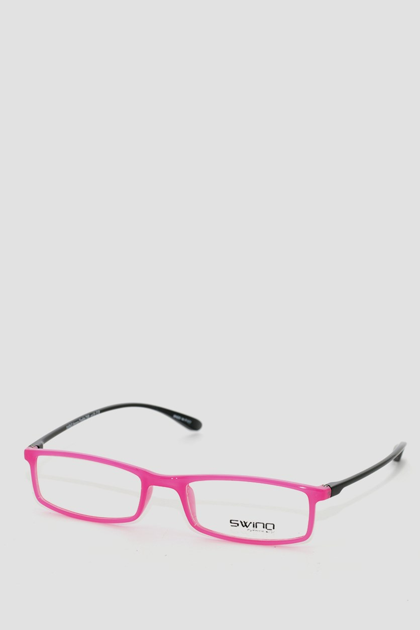 Eyewear Memory Flexible Frames, Pink/Black