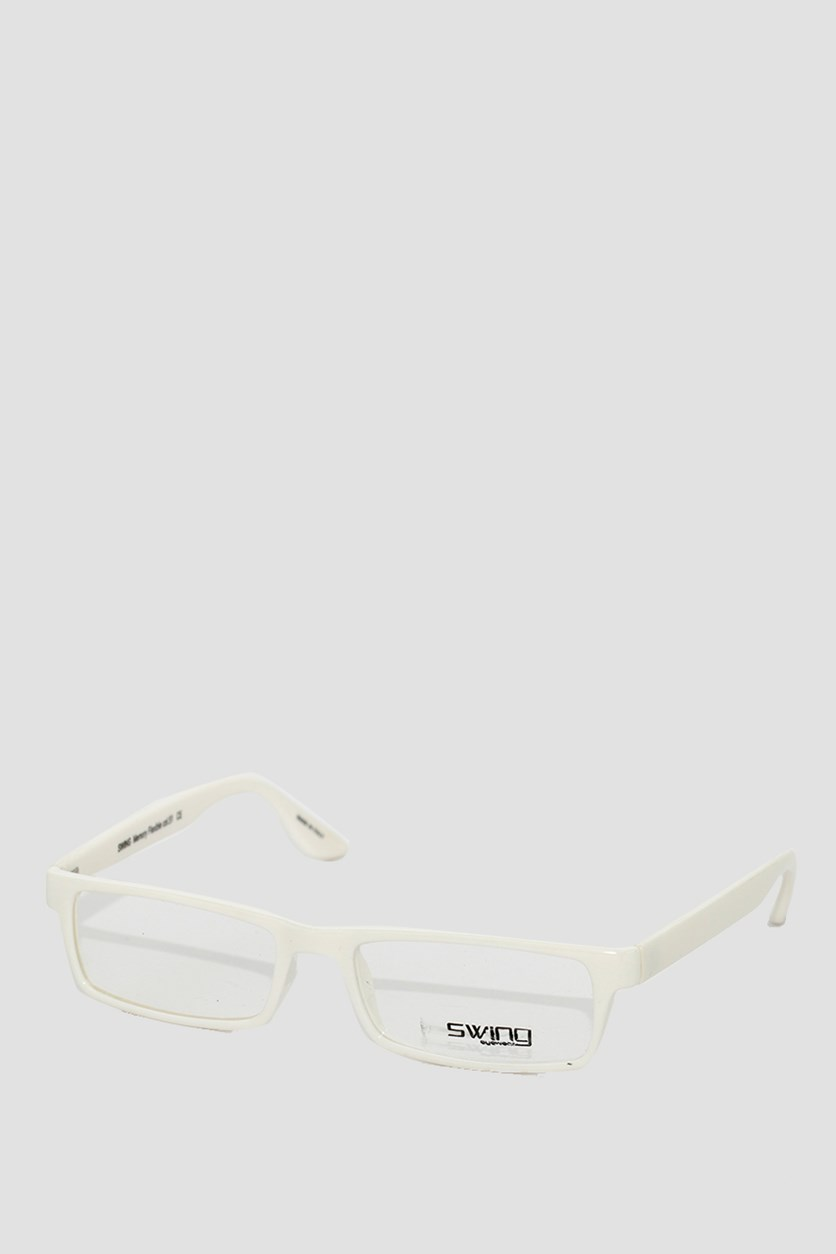 Eyewear Memory Flexible Frames, White