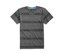 Univibe Boy's Matteo Stripe T-Shirt, Grey