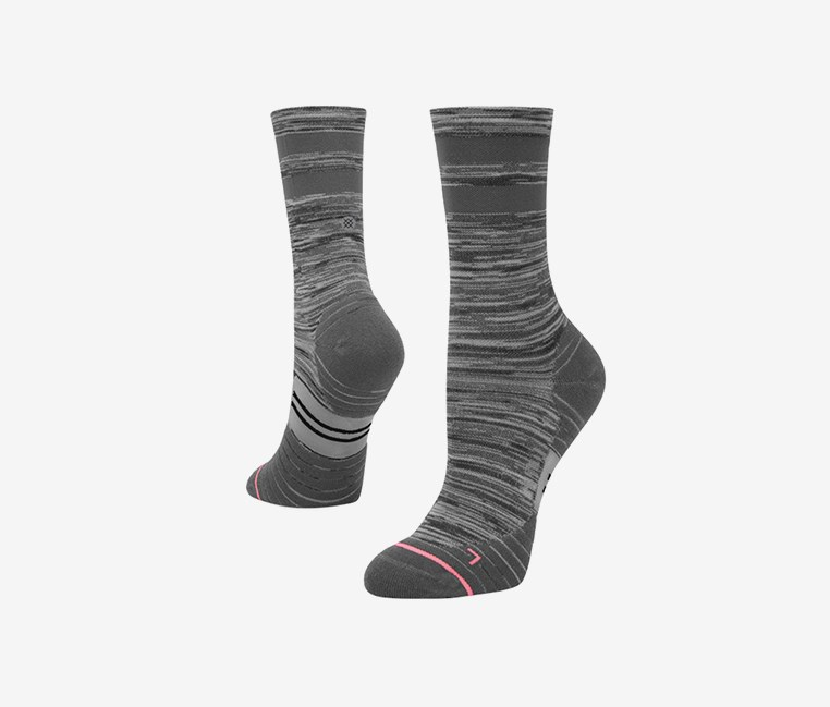 Socks Uncommon Solid Crew, Grey
