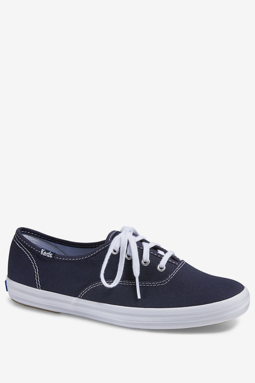 Women's Champion Original Canvas Sneakers, Navy