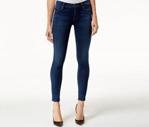 Hudson Women's Nico Midrise Skinny Jean with Recovery, Navy