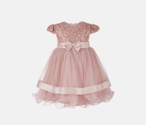 Bonnie Baby Toddler Girls Sequin Lace Ballerina Dress, Pink