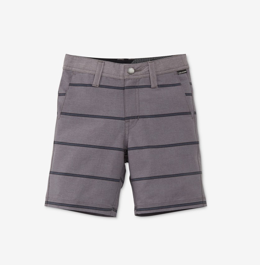Toddler Boys Frickin Surf N' Turf Mix Hybrid Shorts, Gunmetal Grey
