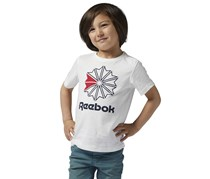 Reebok Boy's Sports T-Shirts, White