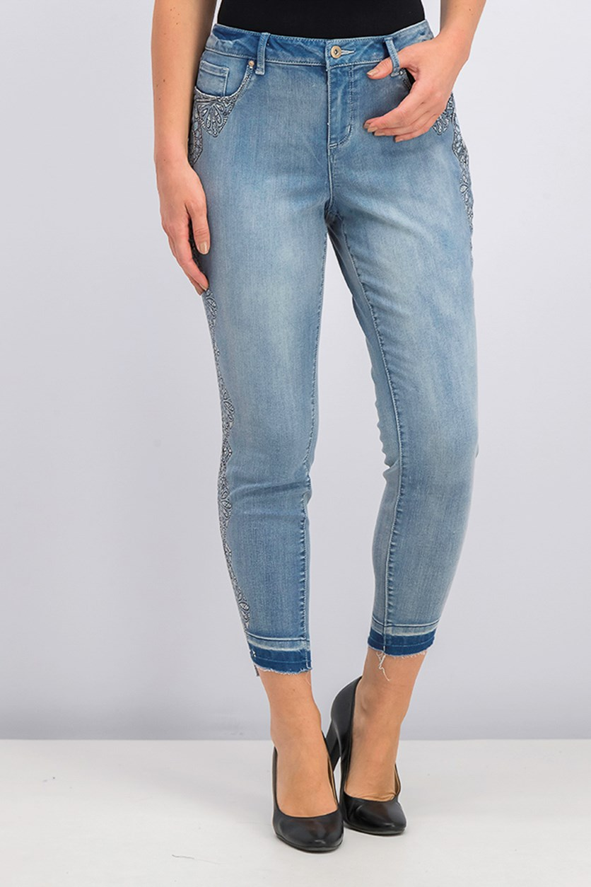 Women's Kiss Me Skinny Jeans, Blue