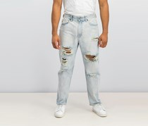 Men's Relaxed-Fit Driven-x Jeans, Wash Blue