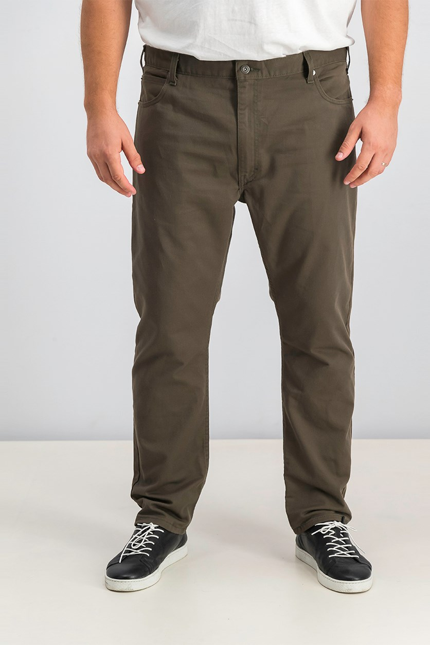 Men's Flex 5-Pocket Twill Slim Tapered Pant, Olive