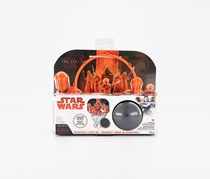 Star Wars The Last Jedi Basketball Hoop Set, White/Red