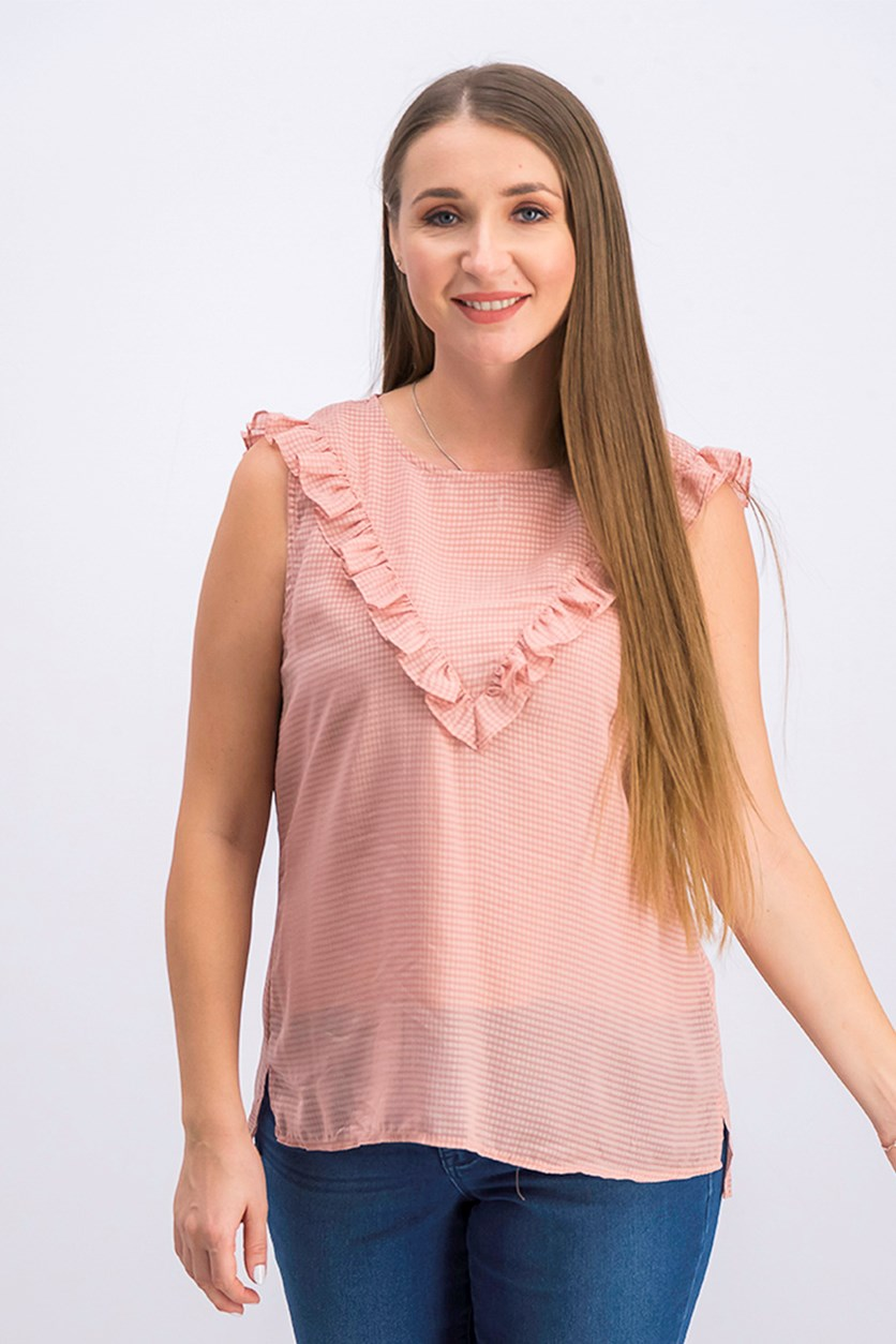 Women's Blouse, Maple Blush