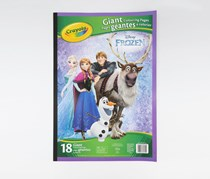 Disney Frozen Giant Colouring Page, Blue Combo