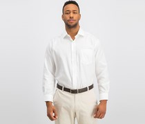Forsyth Tailored Fit Spread Collar Dress Shirt, White