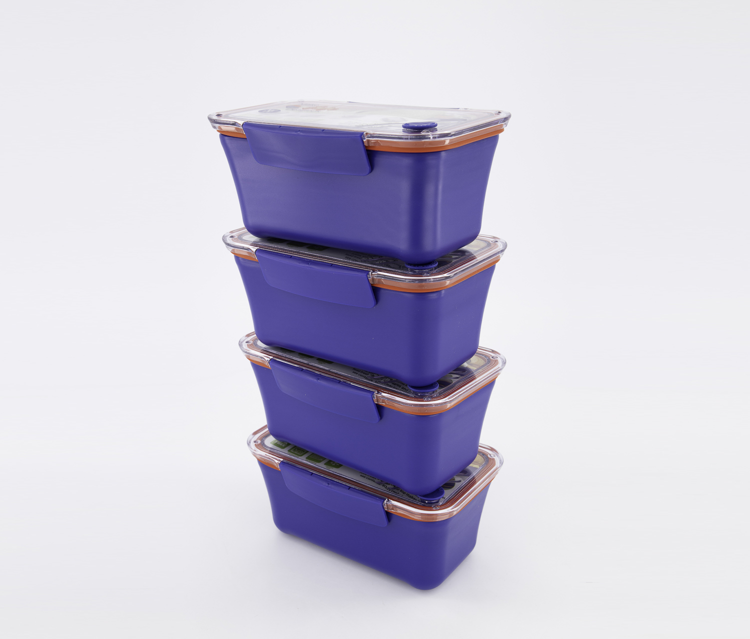 Laville To Go Lunch Box, Blue/Red