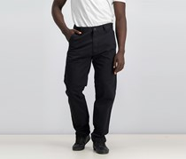 Sean John Black Men's Hamilton Relaxed Tapered Fit Carpenter Pants, Black