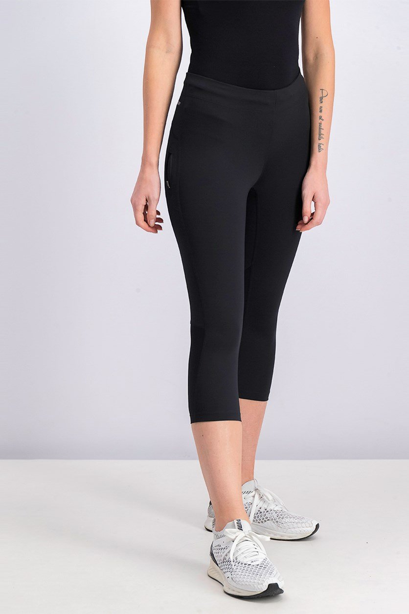 Women's Impact Capri, Black