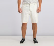 Dockers Mens Classic Fit D3 Shorts, Off White