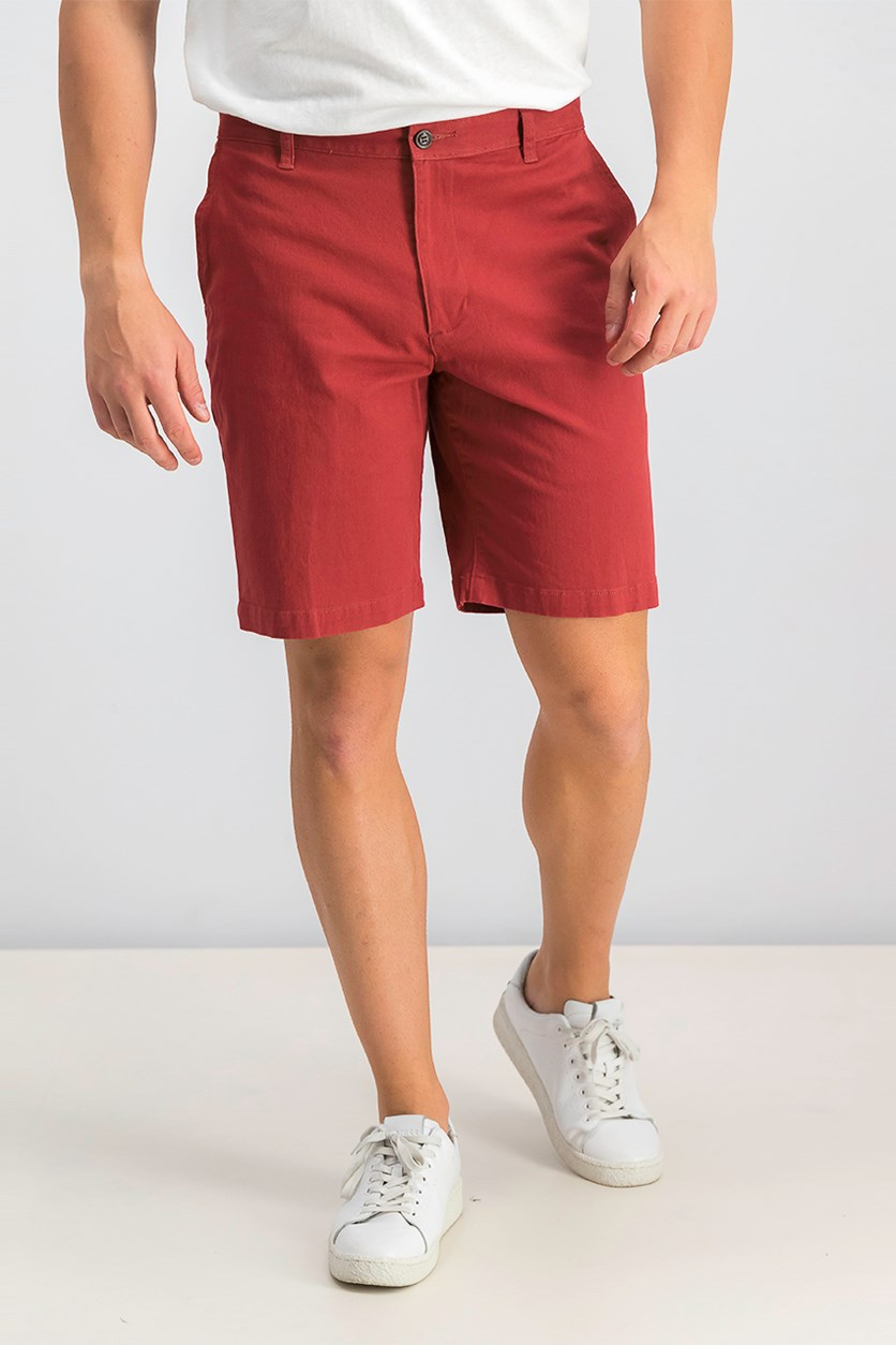 Mens The Perfect Shorts, Medium Red