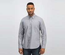 Jachs Men's Long Sleeve Classic Fit Shirts, Grey