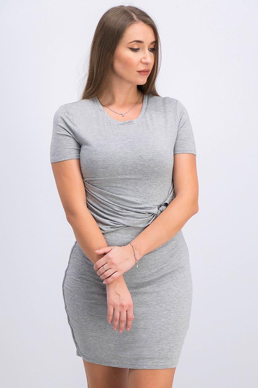 Women's Short Sleeve Cayson Dress, Grey