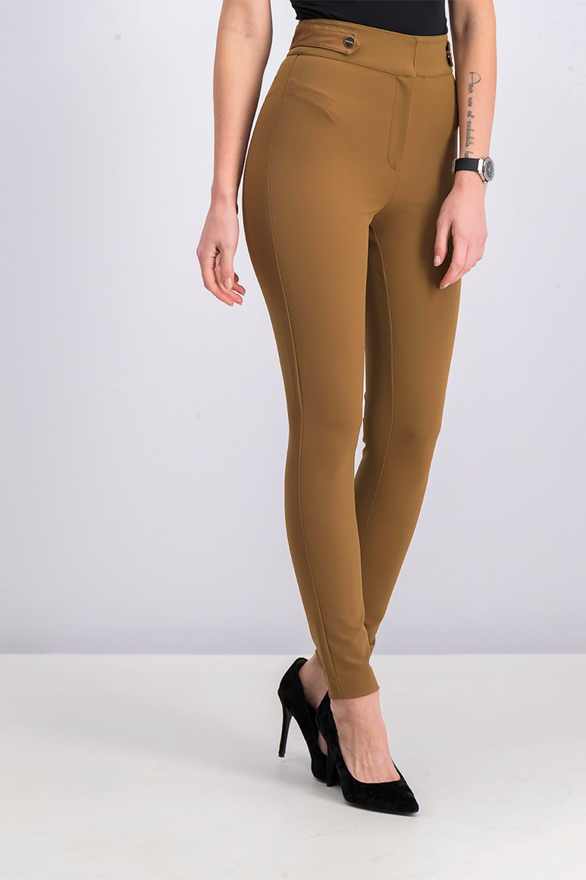 Women Ezrela Pant, New Tabacco