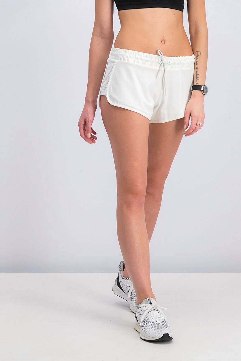 Women Determination Short, White