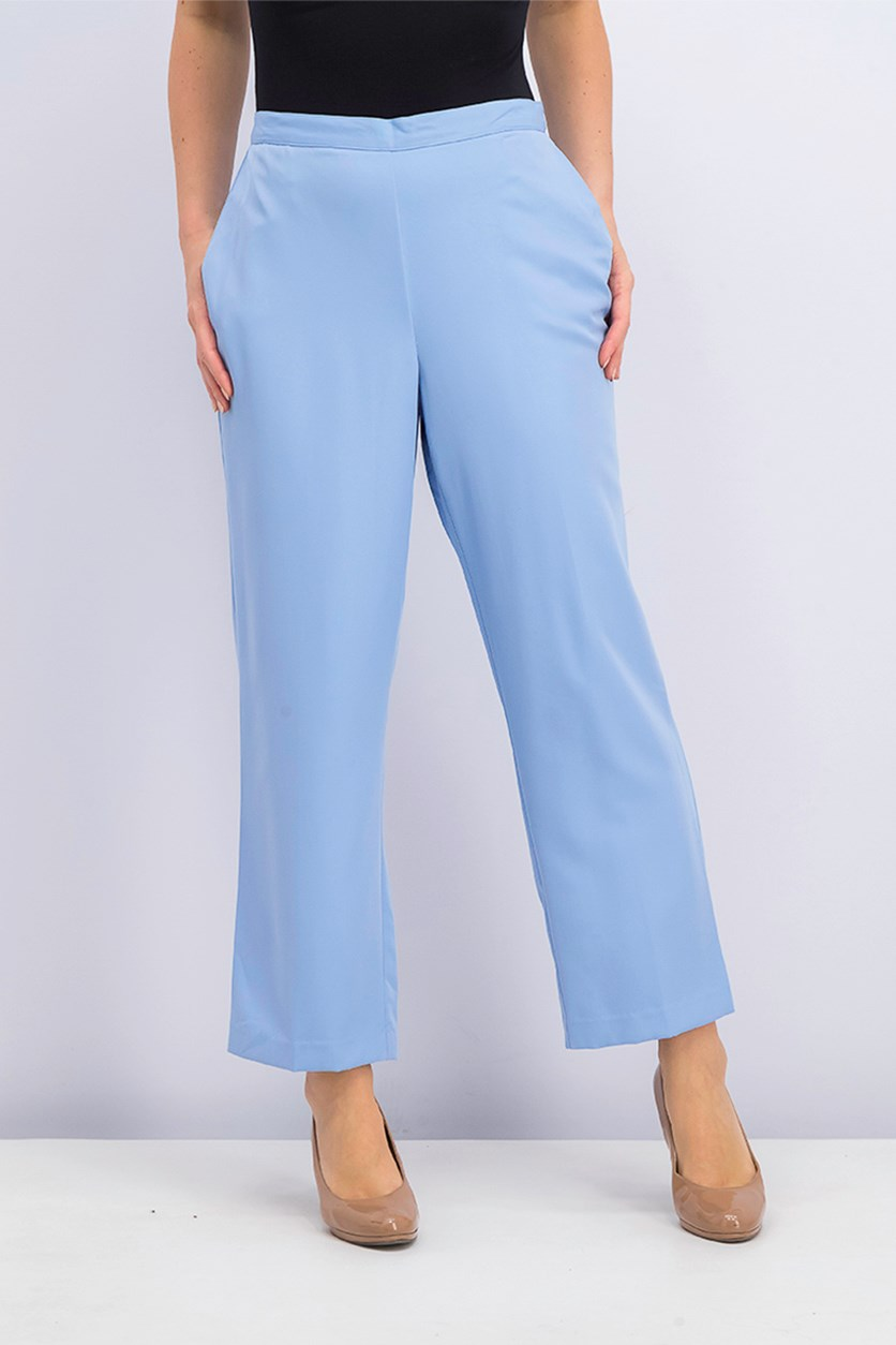 Alfred Dunner Daydreamer Pull-On Pants, Blue