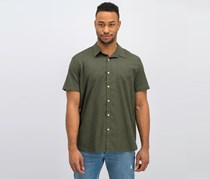 Lucky Brand Men's Weekend Explorer Pocket Shirt, Ivy Green