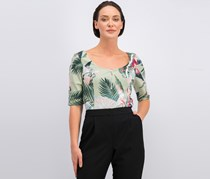 Guess Floral-Print Top, Sunset Palms Desert Sage