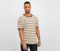 Men's Huntington Striped T-Shirt, Beige Combo