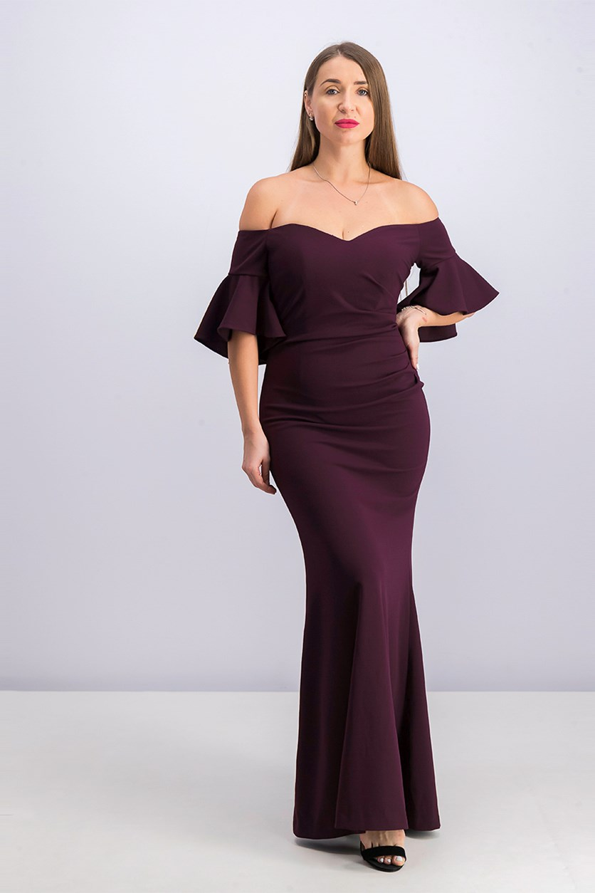 Women's Gown, Purple
